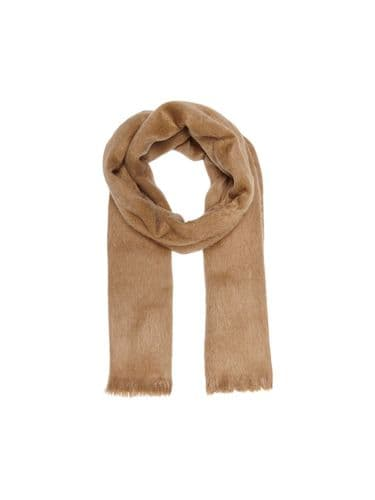 Trade Hairy Woven Scarf Coconut